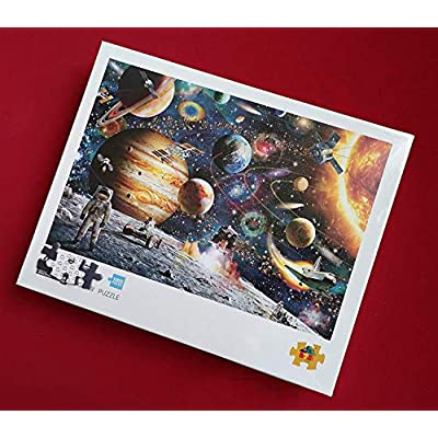 Bgraamiens Space Puzzle 1000 Pieces Jigsaw Puzzle for Kids Adults: Toys & Games
