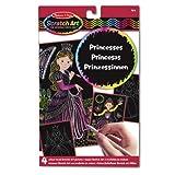 Melissa & Doug Scratch Art Color Reveal Pictures - Princess