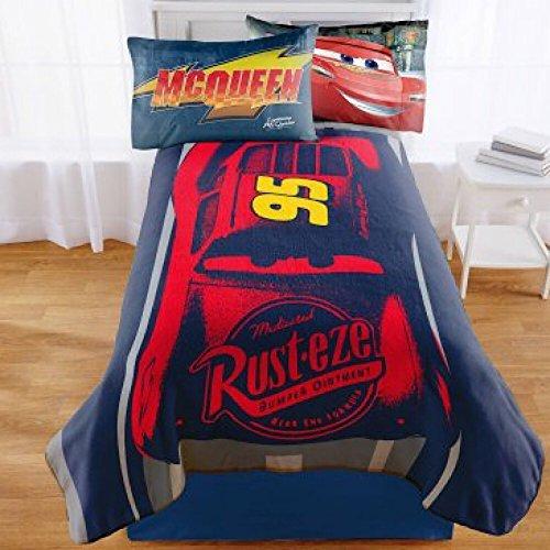 Disney Cars Twin Bedding Plush ()