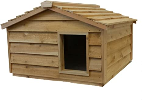 Extra Large Heated Cat House Pet Supplies