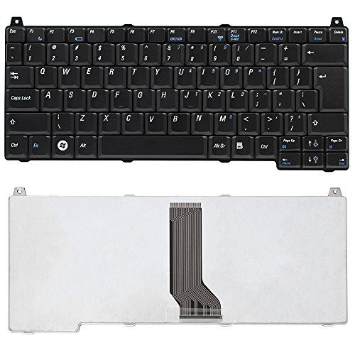 MACHENIKE Replacement Keyboard for Dell Vostro 1310 1510 1320 1520 2510 Series Black US Layout