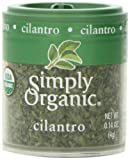 Simply Organic, Cilantro Leaf Cut & Sifted ORGANIC, 0.14 oz. Mini Spice (a) - 2PC - 3PC