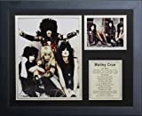 Legends Never Die Motley Crue Framed Photo Collage, 11 by 14-Inch