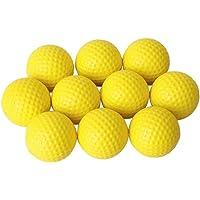 ProLeo Training golfballen – indoor outdoor training soft foam golfballen geel 10 stuks sportproducten