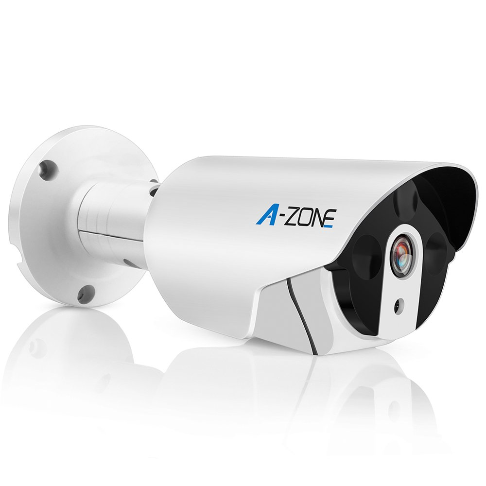 A-ZONE 1080P POE IP Home Security Bullet Camera