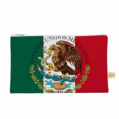 """KESS InHouse Bruce Stanfield """"Mexico Flag And Coat Of Arm..."""