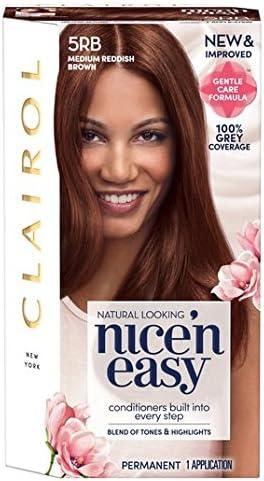 Nice N Easy tinte de pelo Medio Rojizo 5RB: Amazon.es: Salud ...