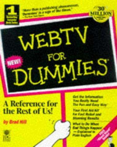 Webtv for Dummies (For Dummies (Webtv Receiver)