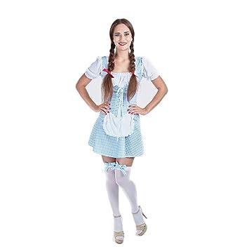 b20d0a0c707f9 Charm Rainbow Beer Maid Costume for Oktoberfest Ladies Tarten Dress ...