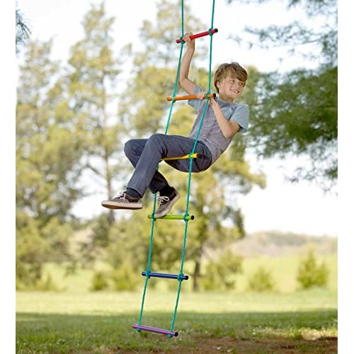 Over The Rainbow Climbing Rope Ladder Playground Swing Sets Tree