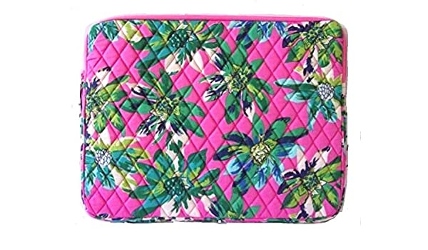 d81b68ea009 Amazon.com  Vera Bradley Laptop Sleeve (Tropical Paradise)  Cell Phones    Accessories