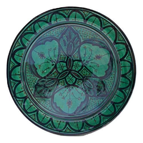 Etnico Arredo Piatto Ceramica Parete Portata cous cous Servizio Set antipastiera Decorativo Arabo Marocco 280918 1353