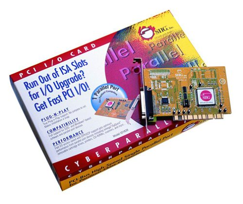 SIIG CyberParallel PCI Card