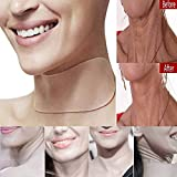 Facial Exercises Remove Wrinkles - Birdfly Neck Care Pad Silicone Anti Wrinkle Aging Reusable Transparent Pads