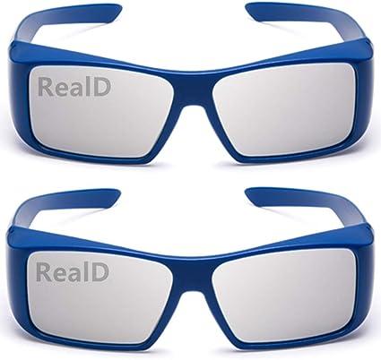 2 Pairs High Quality Passive 3D Glasses for Sky Sony Toshiba LG Panasonic 3d TVs