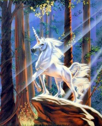 Magical Unicorn Fantasy Art