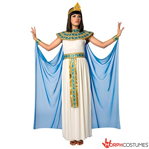 Cleopatra Costume Uk (Cleopatra Costume Womens Egyptian Queen of the Nile Costume - 5 Piece Quality)