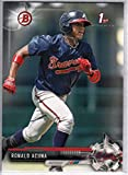 2017 Bowman Baseball Prospects #BP127 Ronald Acuna Braves