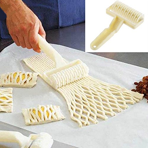 NPLE--Large Size Kitchen Bakery Roller Cutter Baking Knife Tool Cookie Pizza Pastry (Primo Pan Organic Cookies)