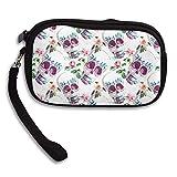 Zipper Change Purse Coin Wallet Card Holder Portable Purse Pouch Bag