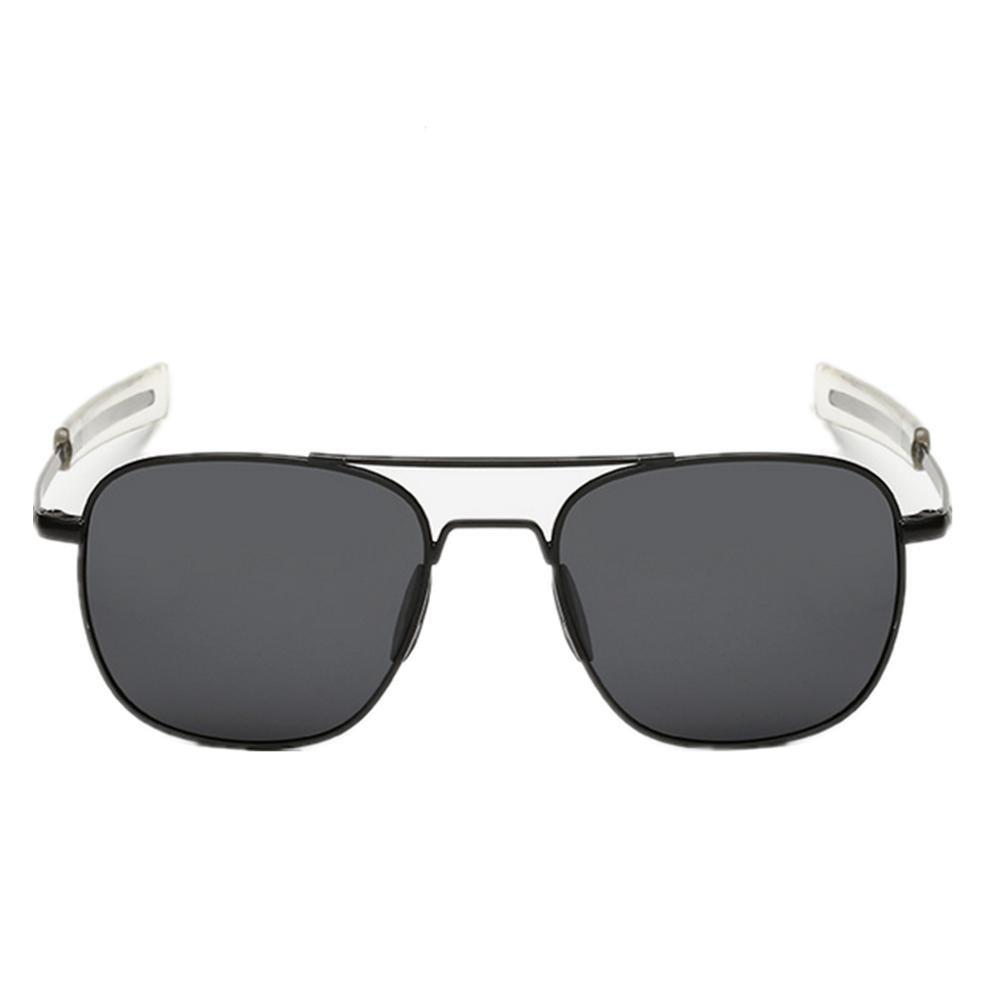 DZW Gafas De Sol Polarizadas De Moda Brillante , black