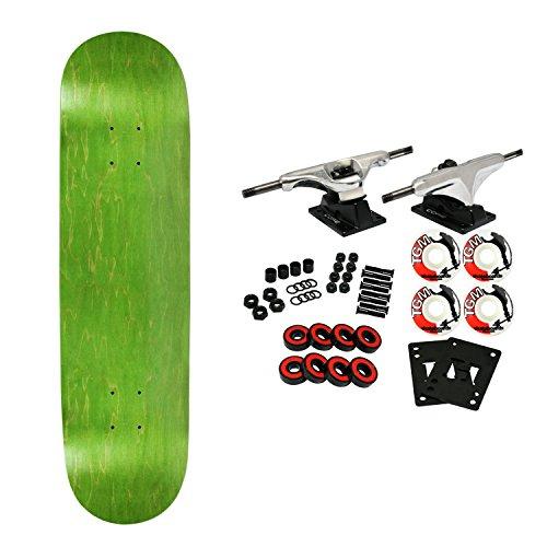 (Moose Complete Skateboard NEON Green 7.5