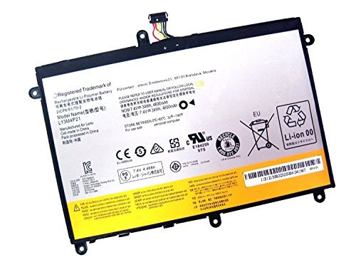 NO1seller Top L13M4P21 L13L4P21 11S121500223 7.4V 34Wh 4600mAh Laptop Battery for Lenovo IdeaPad Yoga 2 11