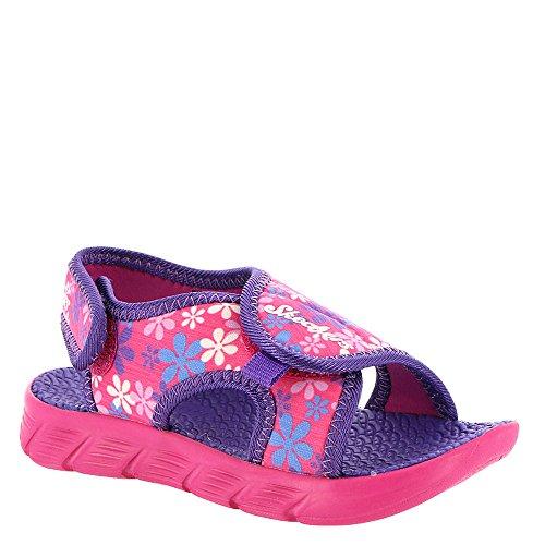 Skechers Print Sandals - Skechers C-Flex Print Sandal 86934N Girls' Infant-Toddler Sandal 12 M US Little Kid Pink-Multi-Floral