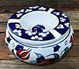 Hand-Painted Ceramic Ashtray With Lid Review and Comparison