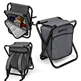 GigaTent Folding 3 in 1 Stool Backpack Folding