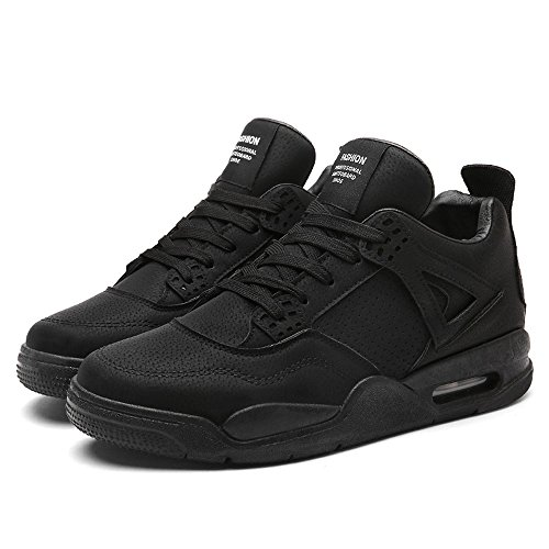 Shoes Comfortable Shoes Basketball Wear Running Thick Sports Black Air Cushion CJZHE Shoes Casual Men's Bottom Breathable qz67nwWfT