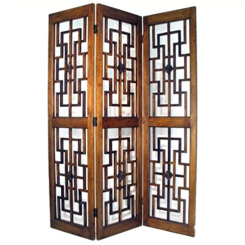 Charleston Red Chamber Screen, Brown