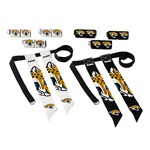 Franklin Sports NFL Jacksonville Jaguars Youth Flag Football Set