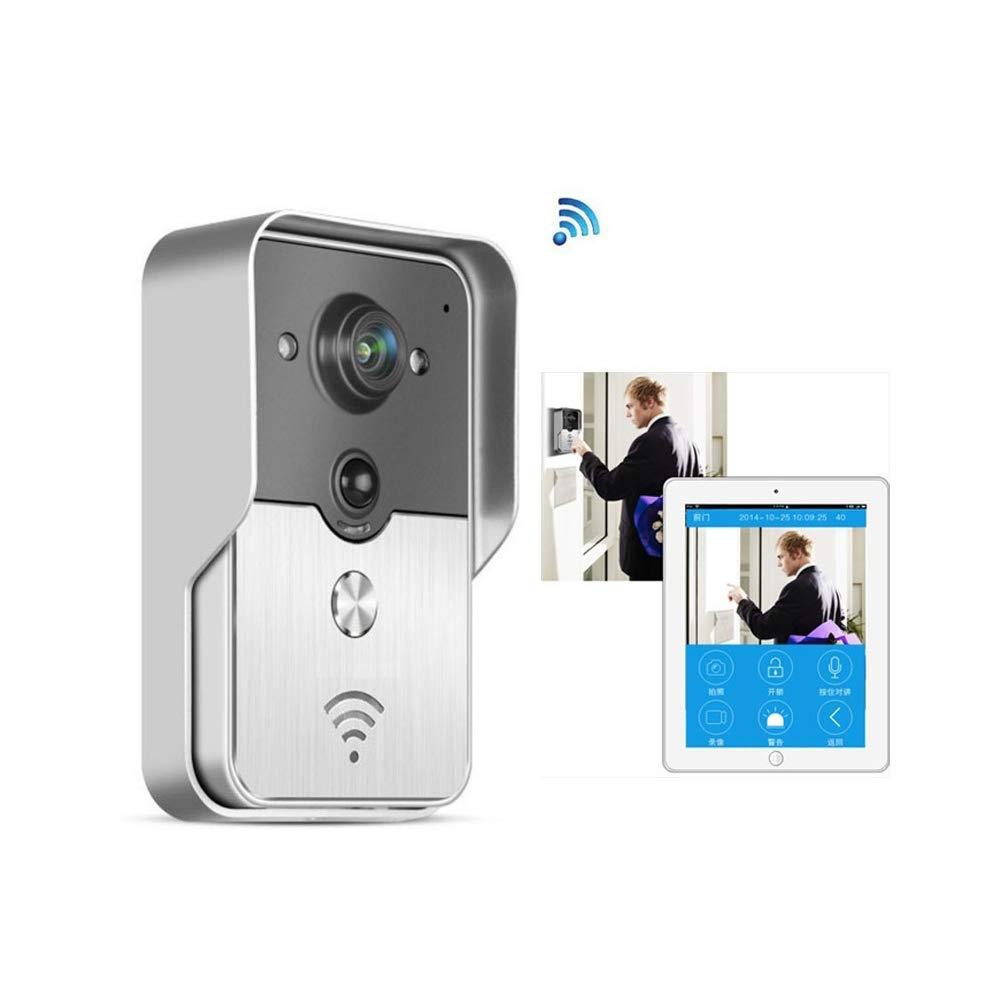 LJP Smart Digital Tür-Viewer 720P Drahtlose WiFi-Intercom-IP-Türklingel-Kamera Mit Echtzeit-Video-Und Nachtsicht PIR Motion Detection