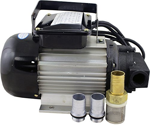 Duda Diesel YTG-40 Motor Oil Pump, 110V/120V, 550W, Wvo Wmo Grease Vegetable Lubricating, 10.5 GPM Maximum Flow Rate, Stainless Steel