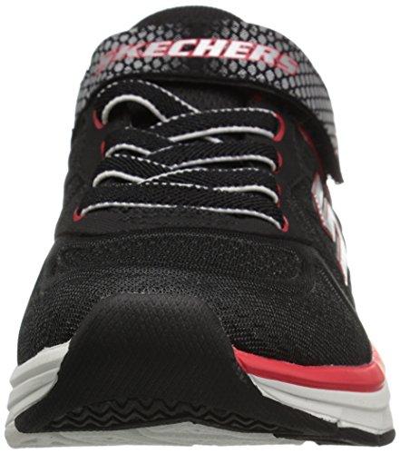 Skechers Jungen Ultrasonix Laufschuhe Mehrfarbig (Black/red)