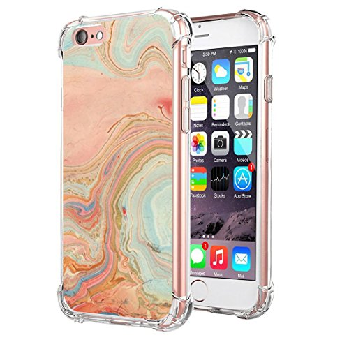 Price comparison product image iPhone 6/6s Plus Case Ultra Skinny Clear Soft TPU Anti-Shock Air Cushion Protective Cover (iPhone 6/6s Plus, 1)
