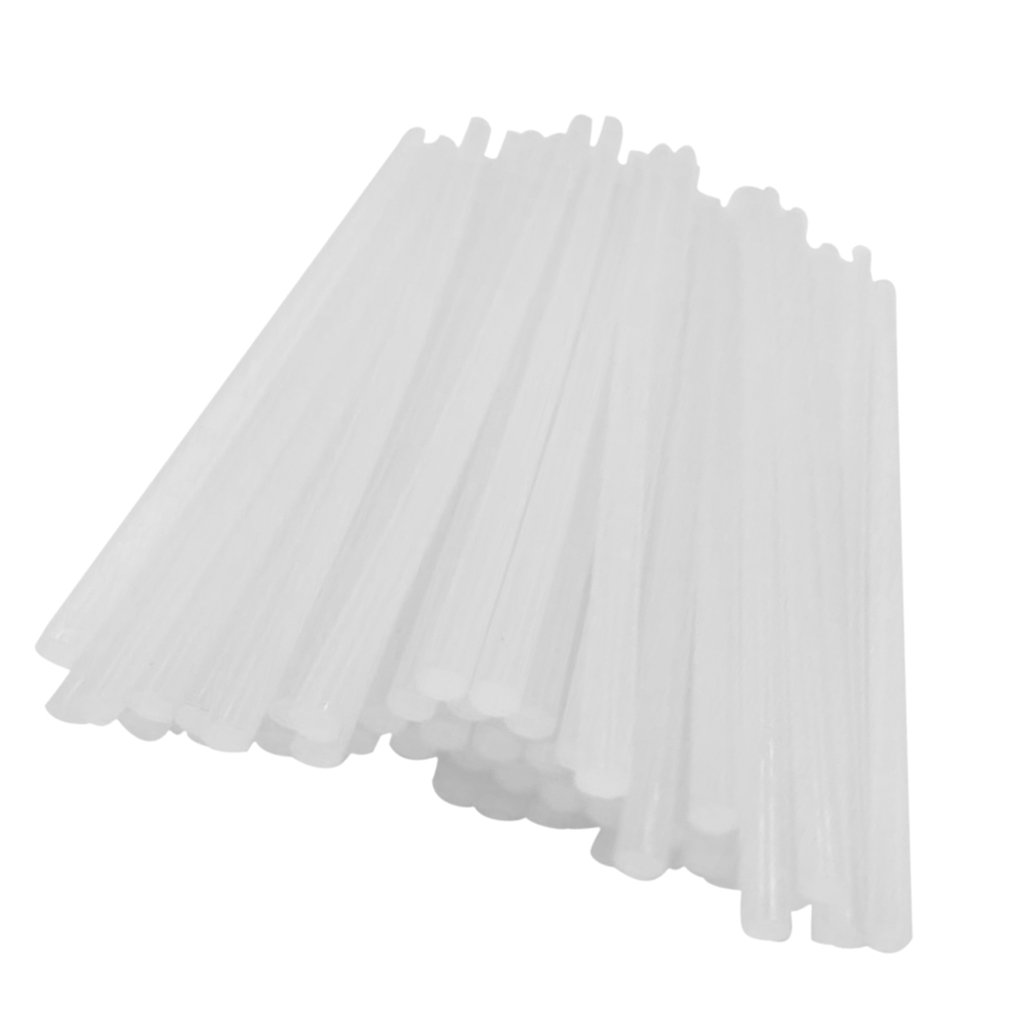 Fenteer 10pcs Bâtonnets de Colle Chaud Viscosité Pistolet à Colle 7mm
