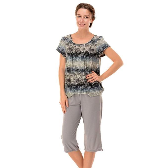 Ropa De Dormir Mujer Verano Camisones T Shirts + Shorts ...