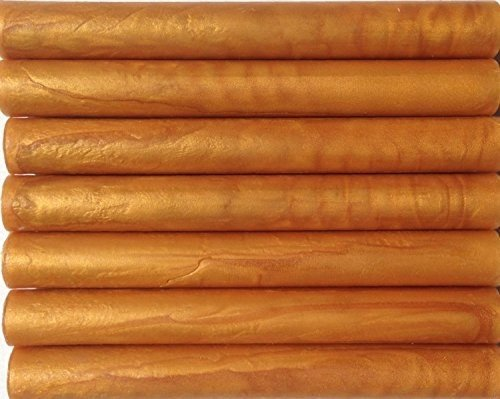 - Tuscan Gold Pearl Flexible Glue Gun Sealing Wax - 7 Sticks