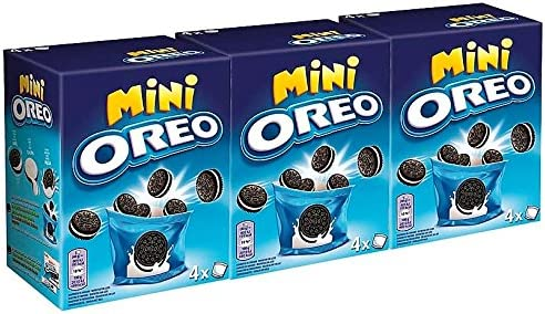 Oreo Mini Galletas 160 gr. [Pack de 3]: Amazon.es: Alimentación y ...