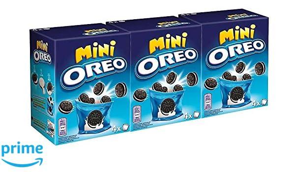 Oreo Mini Galletas 160 gr. [Pack de 3]: Amazon.es: Alimentación y bebidas