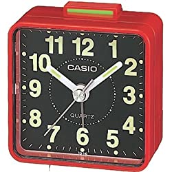 TQ140 Travel Alarm Clock - Red