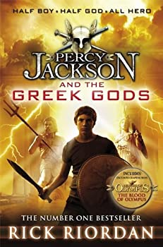 Percy Jackson's Greek Gods 0141355204 Book Cover