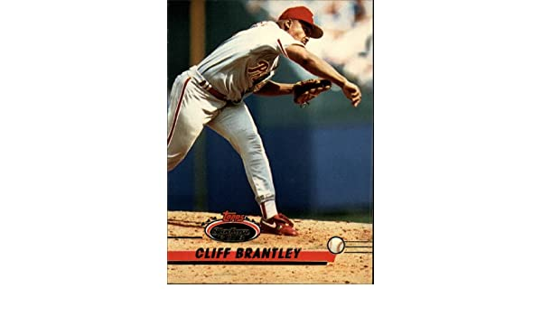 Amazon.com: 1993 Topps Stadium Club Baseball Card #253 Cliff Brantley Mint: Collectibles & Fine Art