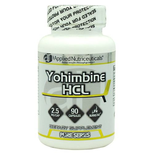 Applied Nutriceuticals Pure Series Yohimbine HCL - 90 Capsules