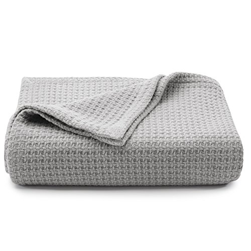 Tommy Bahama Coast Cotton Blanket, Full/Queen, Pelicans Gray
