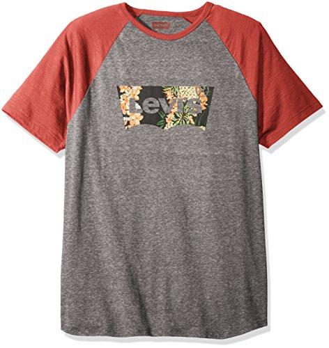 Levis Mens Pinkins Short Sleeve Jersey Shirt