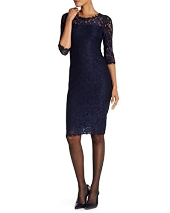 be6230d9ba4 Image Unavailable. Image not available for. Color  T Tahari Women s Blue  Riley Dress