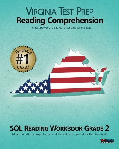VIRGINIA TEST PREP Reading Comprehension SOL Reading Workbook Grade 2